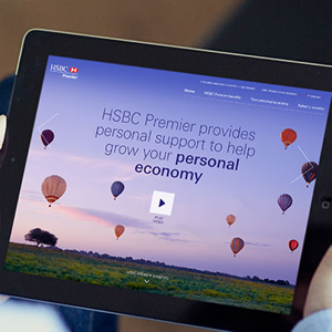 HSBCPremier.com responsive website